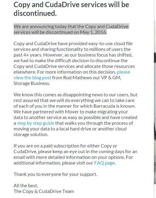 copy.com RIP