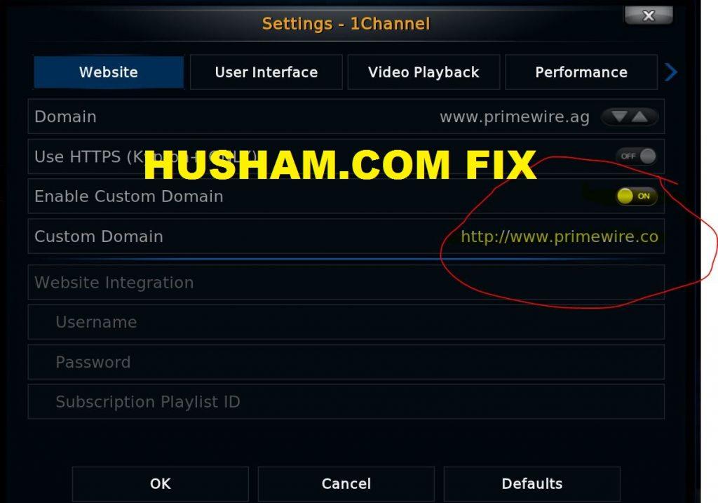 Primewire/1channel KODI addon fix - Husham.com