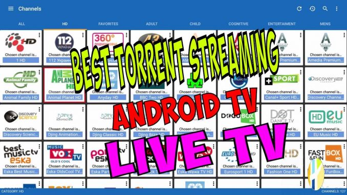 torrent video streaming android
