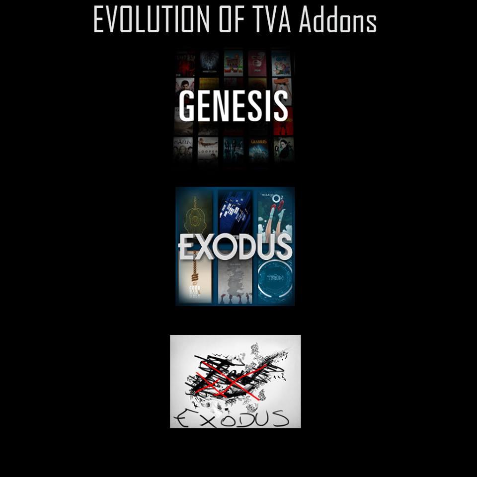 KODI EVOLUTION OF TVA - TVADDONS - KODI POLICE NEWS - Husham com