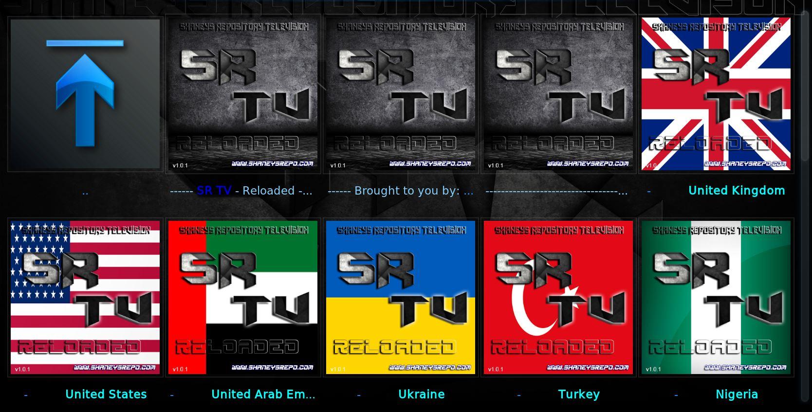 KODI SR TV RELOADED - WATCH LIVE TV - UK - USA - ARABIC