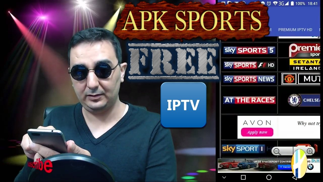 WATCH LIVE TV FREE SPORTS WITH THIS APK IPTV ANDROID - BEST FREE