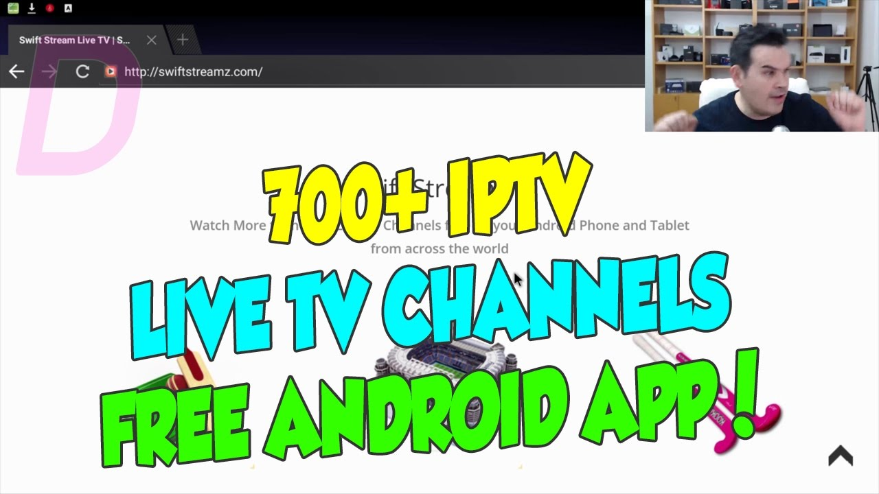 AMAZING APK ON ANDROID FOR LIVE TV IPTV WITH MORE THAN 700