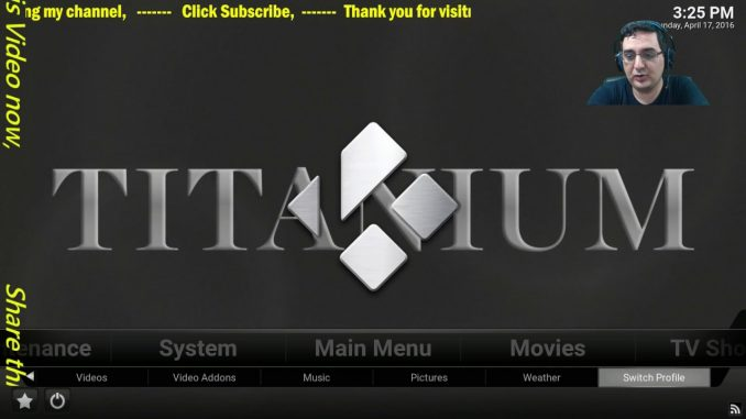 KODI TITANIUM BEST KODI BUILD WIZARD