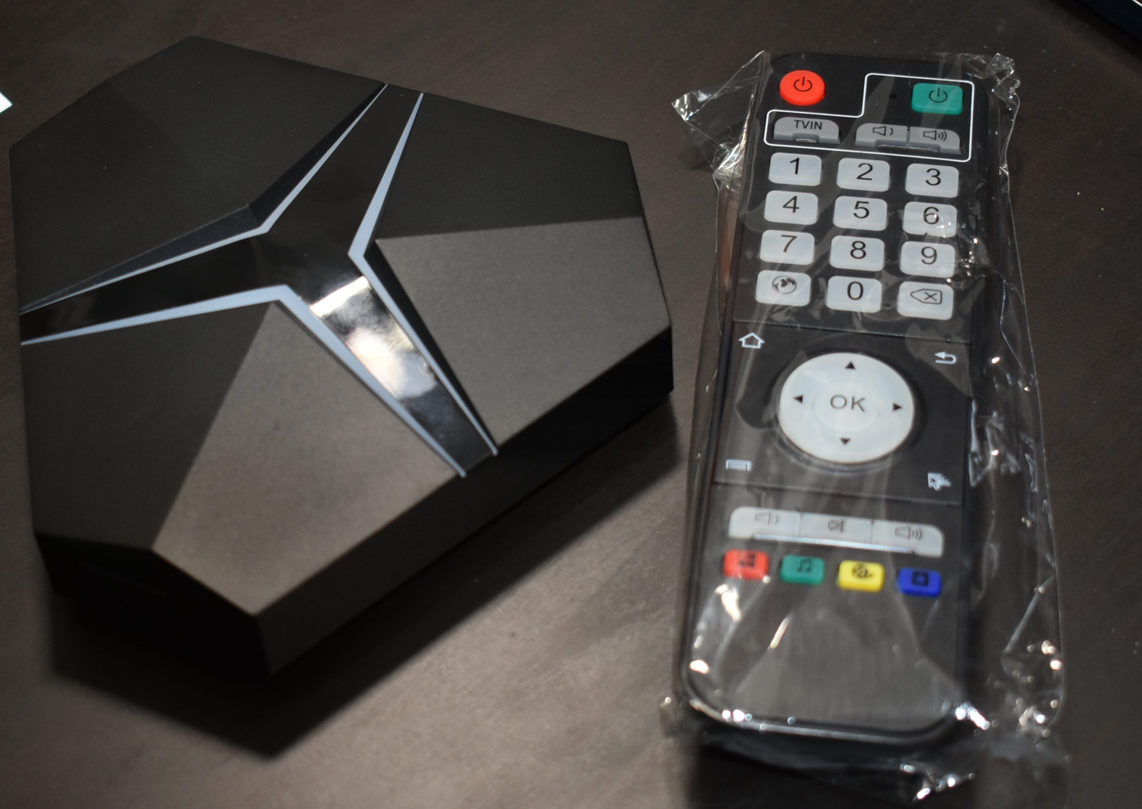 Magicsee Iron+ TV Box 3GB Ram 32 GB Rom Kodi Android Box - S912