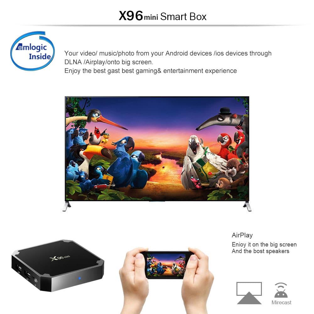 X96 Mini TV Box - Cheapest fastest KODI box of 2017 - Husham