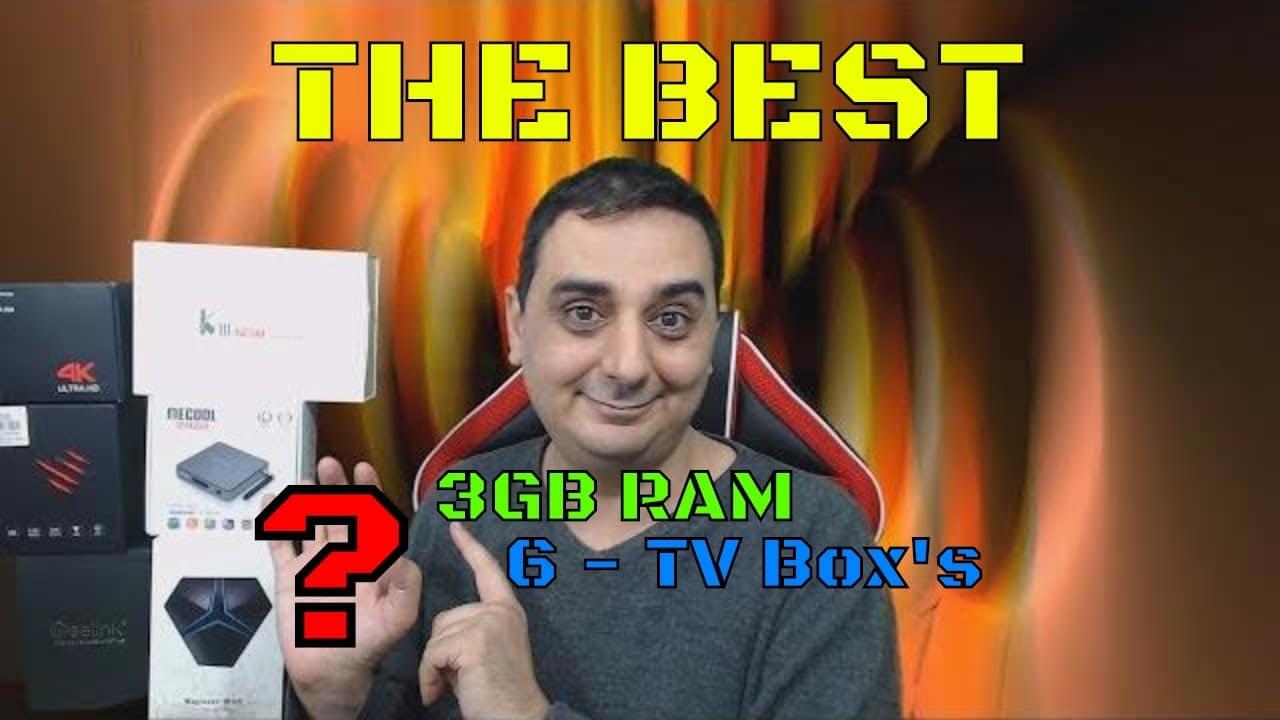 The Best Android TV box - Husham Top 3GB Android TV KODI Box