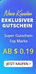 Neue Kunden – Exklusiver Gutschein ab $0.19