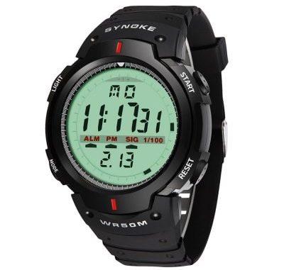 SYNOKE 61576 Sports Men Waterproof Outdoor Watch