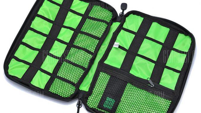 Digital Accessories Storage Pouch Case Travel Organizer Bag