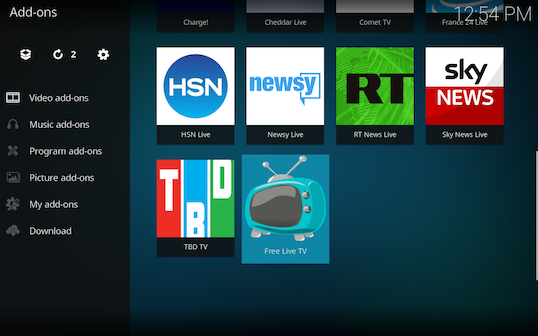 Screen Shot 2018 03 06 at 12.54.09 PM - Free Live TV for Kodi: Live TV Channels Directly from Verified Sources