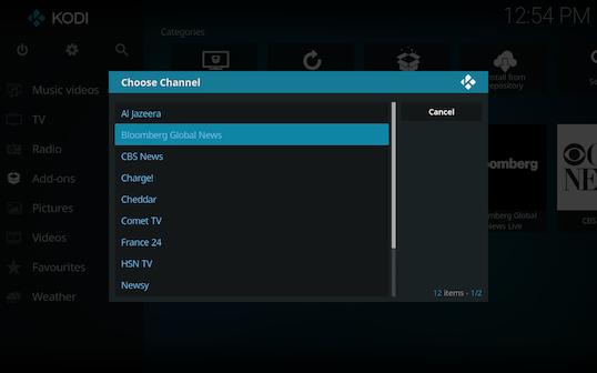 Screen Shot 2018 03 06 at 12.54.27 PM - Free Live TV for Kodi: Live TV Channels Directly from Verified Sources