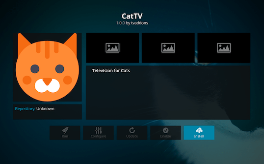 Screen Shot 2018 03 06 at 1.00.39 PM - Cat TV for Kodi: Endless Fun for Cats and Kittens of All Ages