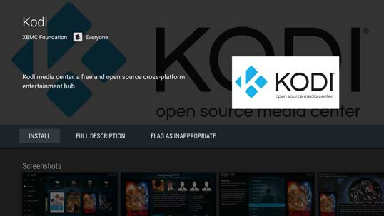 042117115100 - Installing Kodi on Sony BRAVIA Smart TVs Powered by Android TV