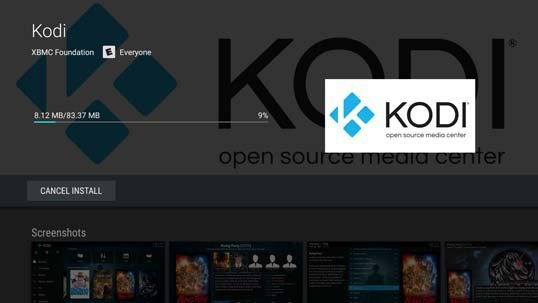 Installing Kodi on Sharp AQUOS Smart TVs Powered by Android
