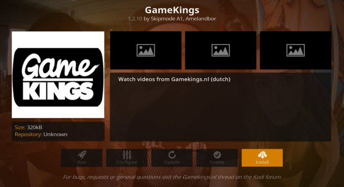 GameKings Addon Guide