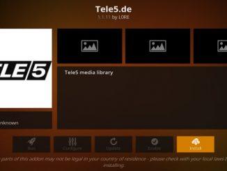 Tele5.de Addon Guide