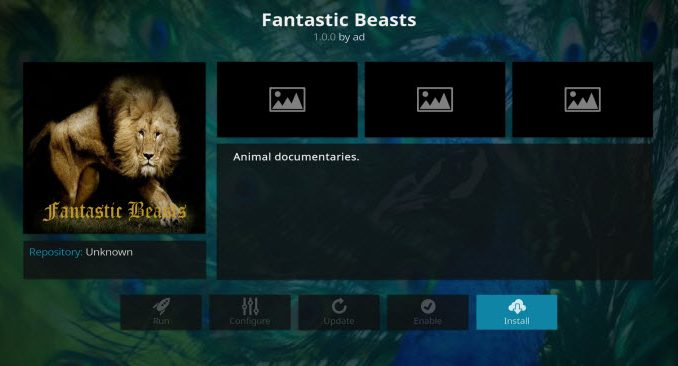 Fantastic Beasts Addon Guide