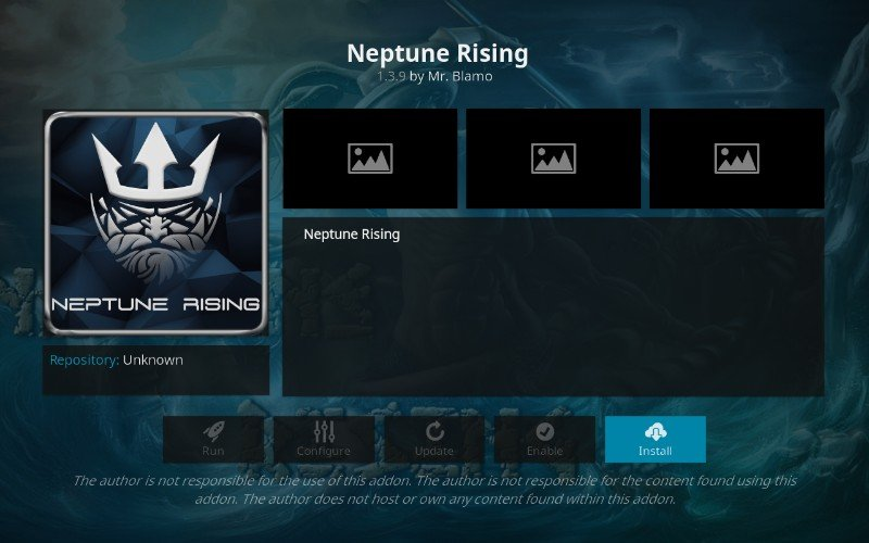 how to install neptune rising addon on kodi