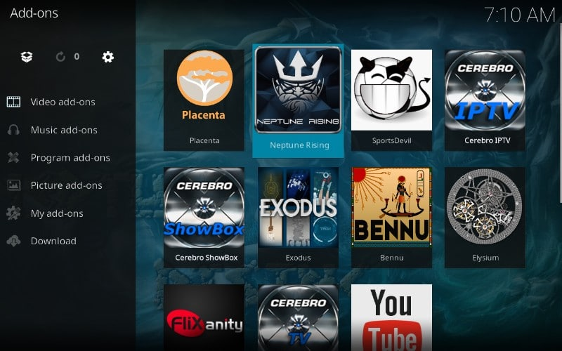 how to download neptune rising on firestick