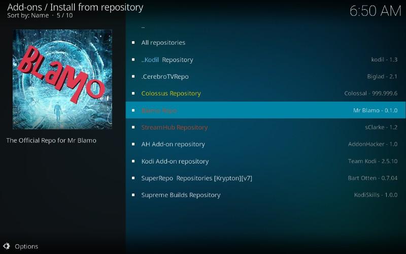 blamo repository