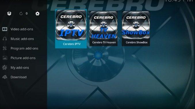 How to Install 'Mobdro' on Kodi 17.6 Krypton Using Cerebro IPTV