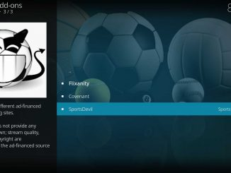 How to Install SportsDevil Addon on Kodi 17.6 Krypton / Fire TV Stick