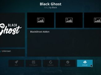 How to Install Black Ghost Kodi Addon on Kodi 17.6 Krypton