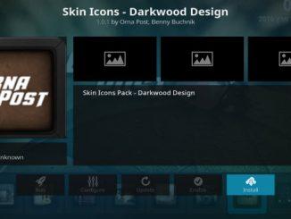 Skin Icons - Darkwood Design Addon Guide
