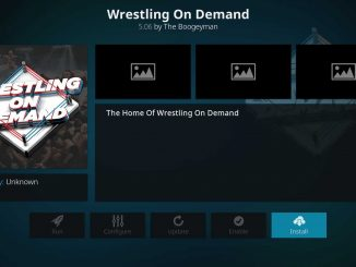 How to Install Wrestling On Demand on Kodi 17.6 Krypton