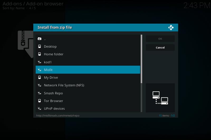 How to Install Misfit Mods Lite Build on Kodi 17 6 Krypton