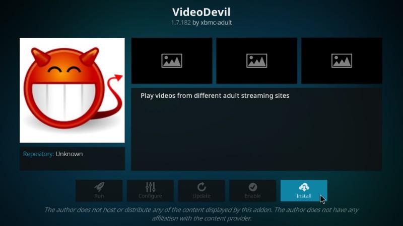 how to install videodevil kodi adult addon