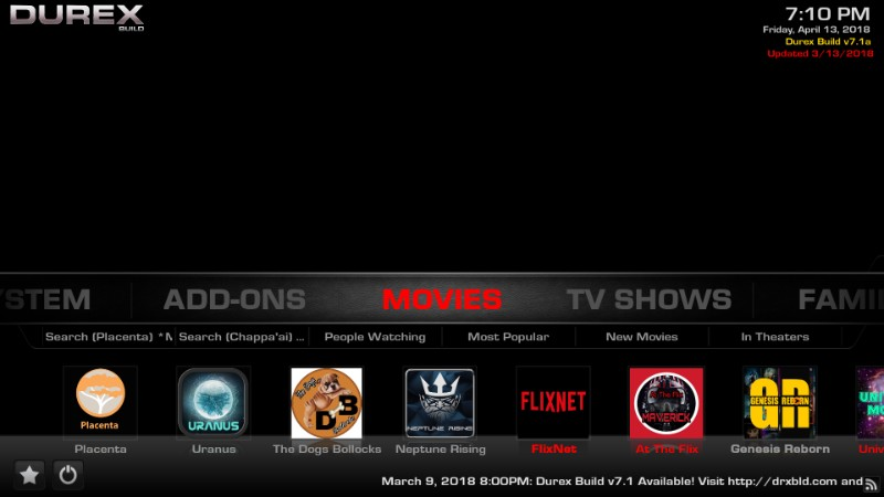 How To Install Durex Build On Kodi 17 6 In 3 Simple Steps