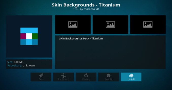 Skin Backgrounds - Titanium Addon Guide