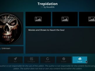 How to Install Trepidation Addon on Kodi 17.6 Krypton
