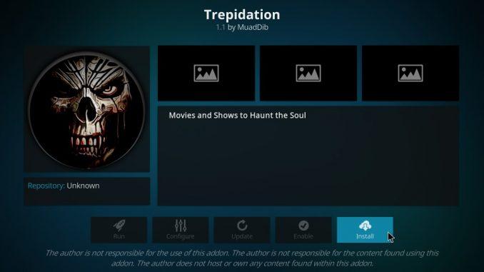 How to Install Trepidation Addon on Kodi 17.6 Krypton