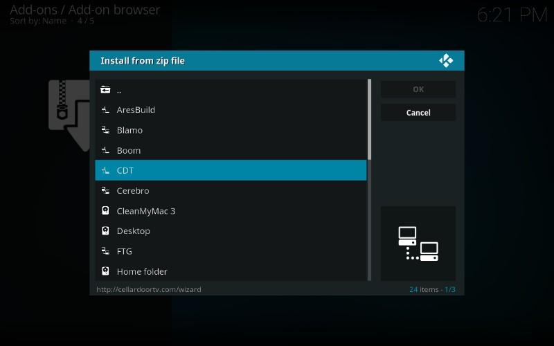 cellardoor tv kodi build repo