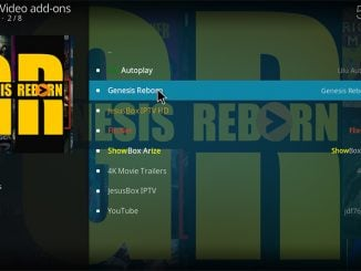 How to Install Genesis Reborn on Kodi 17.6 Krypton
