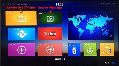 Arabox Arabic IPTV renew code comportable Qnet Marstv APK