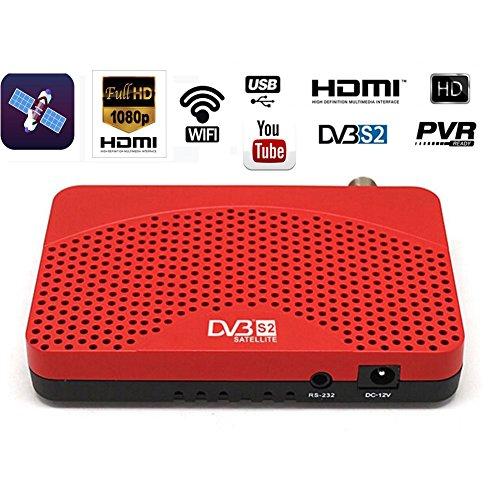 Mini DVB-S2 Digital Satellite Tv Receiver High definition 1080P