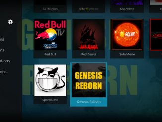 Genesis Reborn Addon Guide - Kodi Reviews