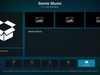 Genie Music Addon Guide - Kodi Reviews