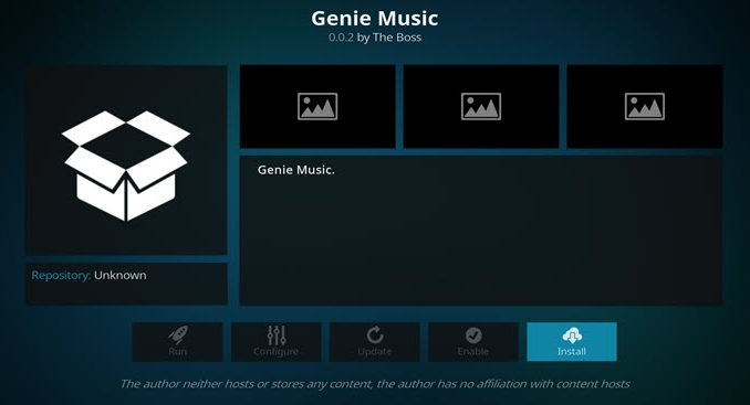 Genie Music Addon Guide - Kodi Reviews
