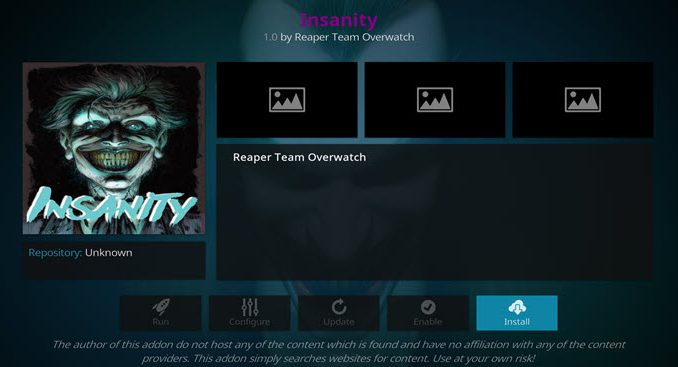 Insanity Addon Guide - Kodi Reviews