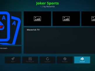 Joker Sports Addon Guide - Kodi Reviews