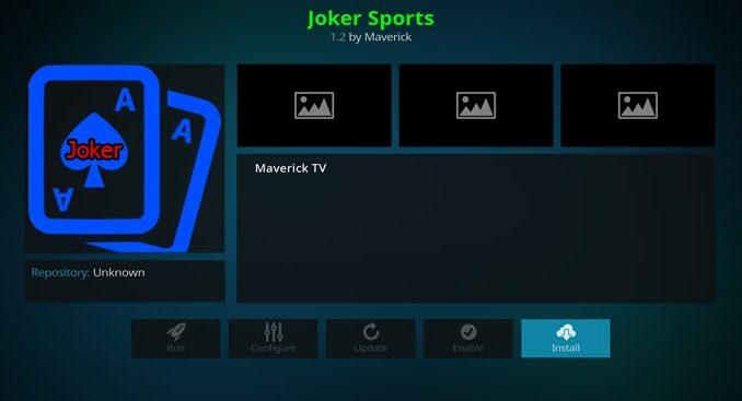 Joker Sports Addon Guide - Kodi Reviews