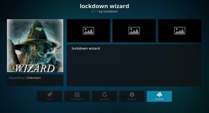 Lockdown Wizard Addon Guide - Kodi Reviews