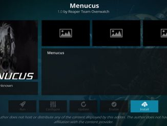 Menucus Addon Guide - Kodi Reviews