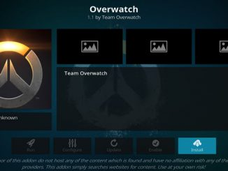 Overwatch Addon Guide - Kodi Reviews