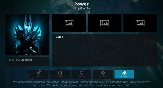 Power Addon Guide - Kodi Reviews